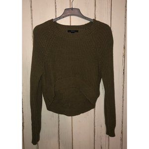 Forever 21 Crop Knit Sweater